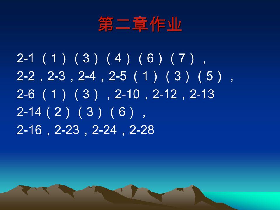 2.6.1 离散系统的系统函数、 系统频率响应(传输函数) 1.