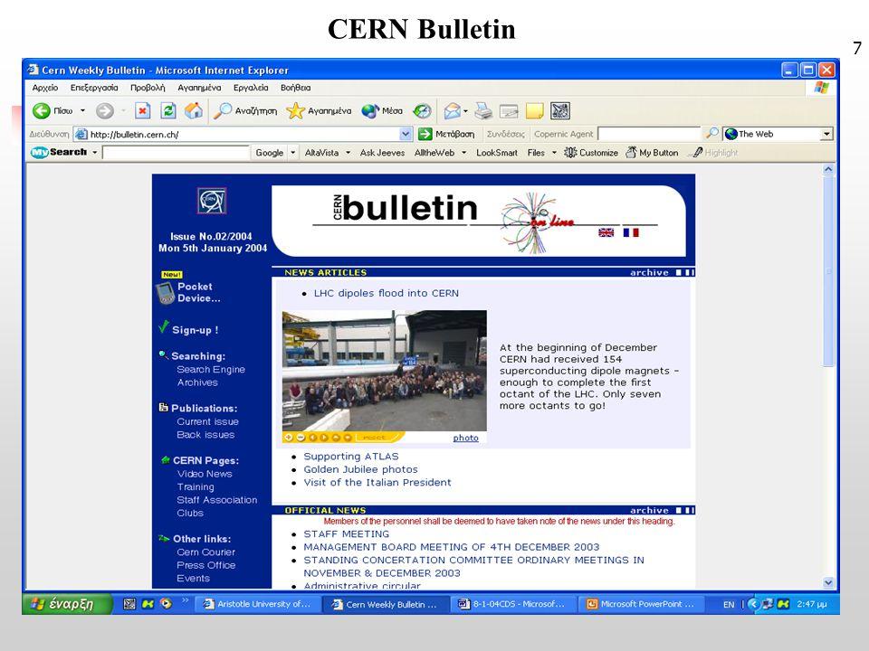 7 CERN Bulletin
