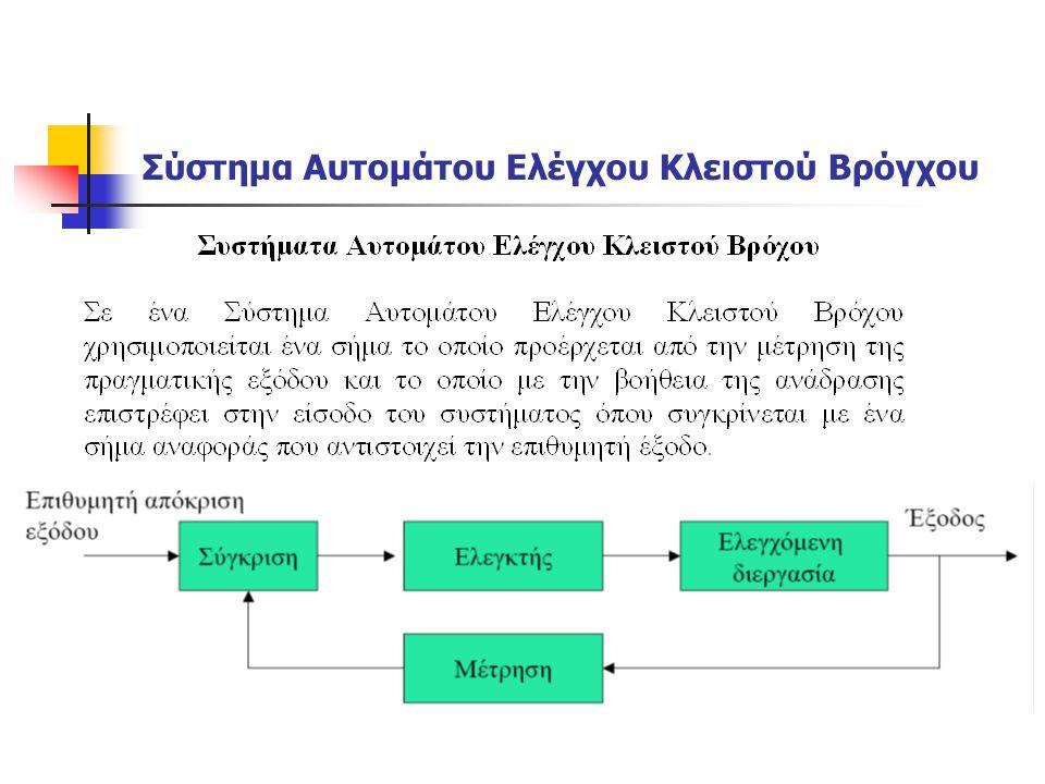 Παραδείγματα Συστημάτων Έλεγχος απόστασης από προπορευόμενα οχήματα