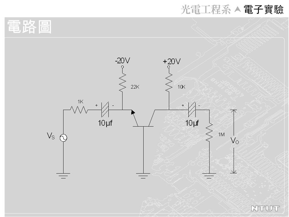 測試值 V IN VOVO V CB (AC) V CB (DC) A V = V O / V IN
