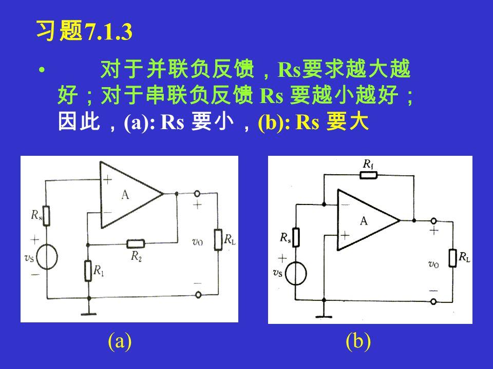 (f): R 6 电流串联交直流负反馈