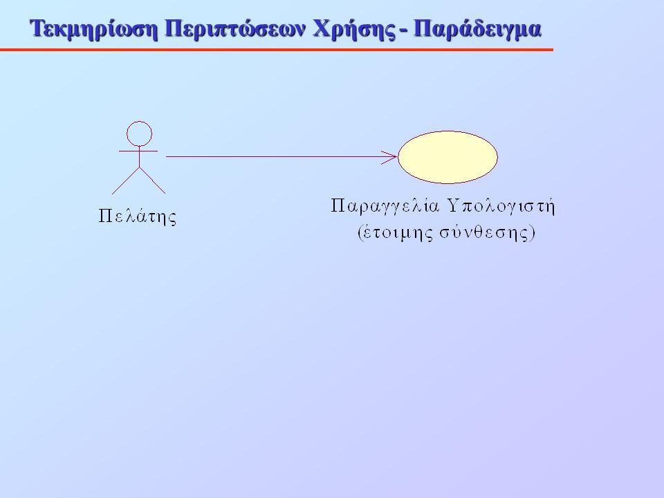 Τεκμηρίωση Περιπτώσεων Χρήσης - Παράδειγμα