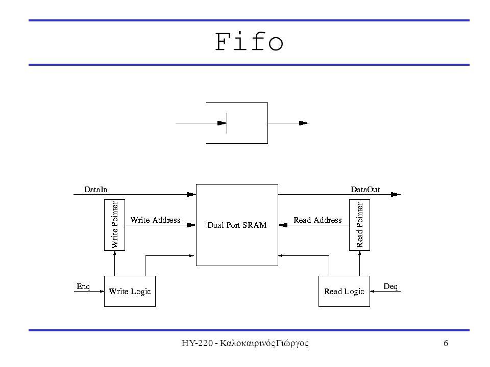 ΗΥ-220 - Καλοκαιρινός Γιώργος6 Fifo