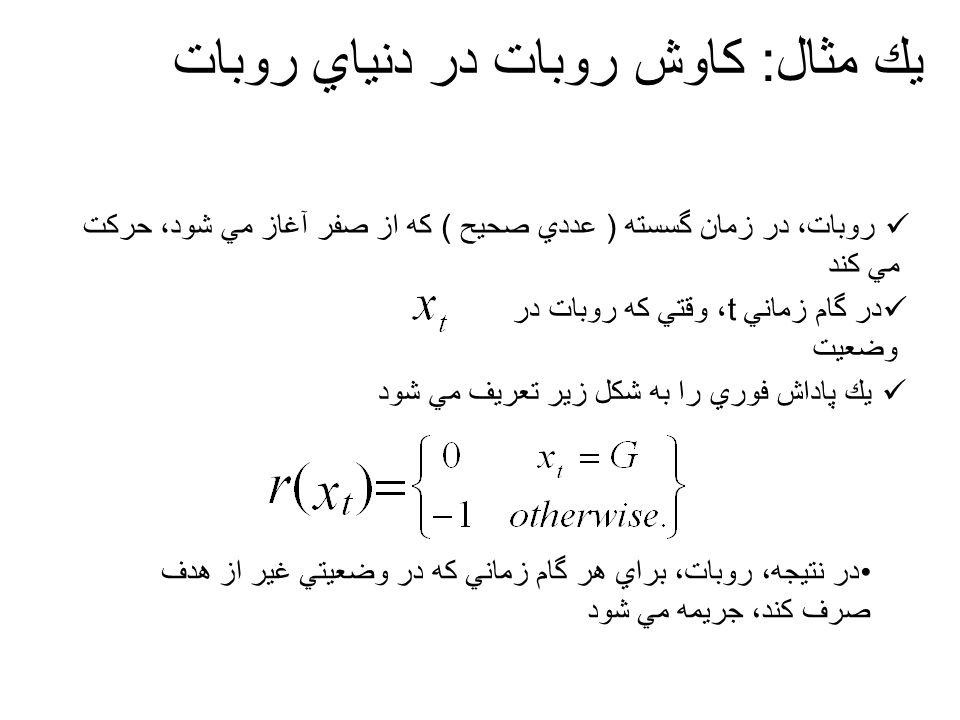 يادگيري r^ نيازبه اين داردكه تمامي اعضاي A, به وسيله محيط درهر وضعيتx ارزيابي شوند.