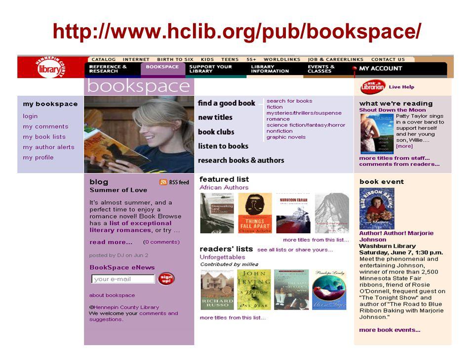 http://www.hclib.org/pub/bookspace/