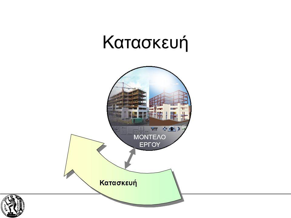 Εθνικό Μετσόβιο Πολυτεχνείο Σχολή Πολιτικών Μηχανικών ΜΟΝΤΕΛΟ ΕΡΓΟΥ Κατασκευή