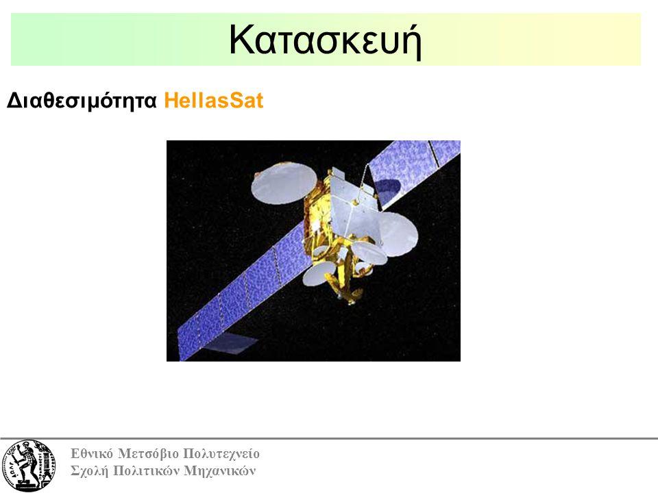Εθνικό Μετσόβιο Πολυτεχνείο Σχολή Πολιτικών Μηχανικών Κατασκευή Διαθεσιμότητα HellasSat