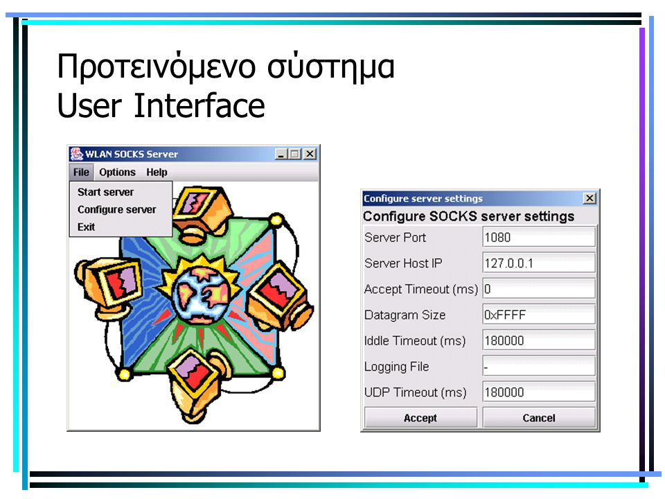 Προτεινόμενο σύστημα User Interface