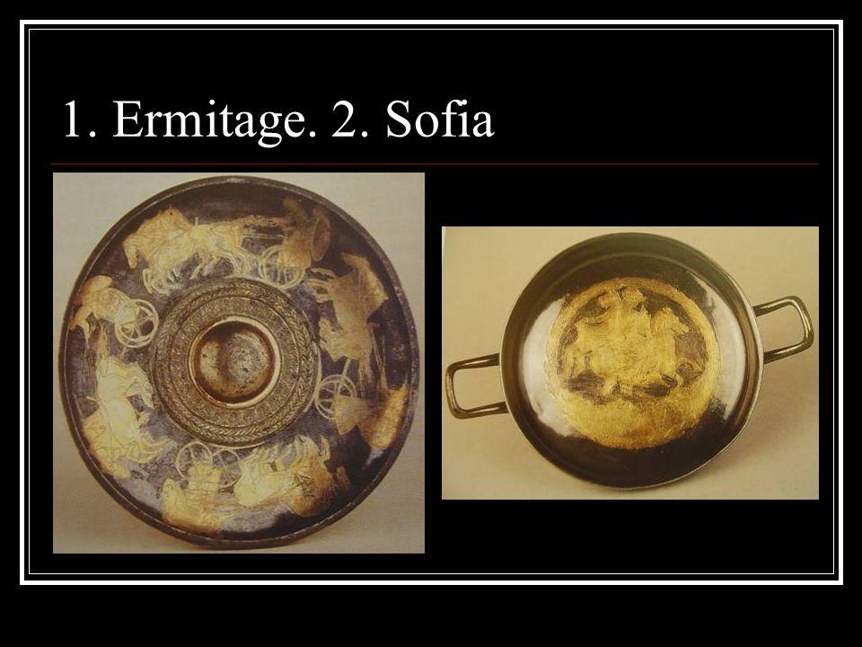 1. Ermitage. 2. Sofia