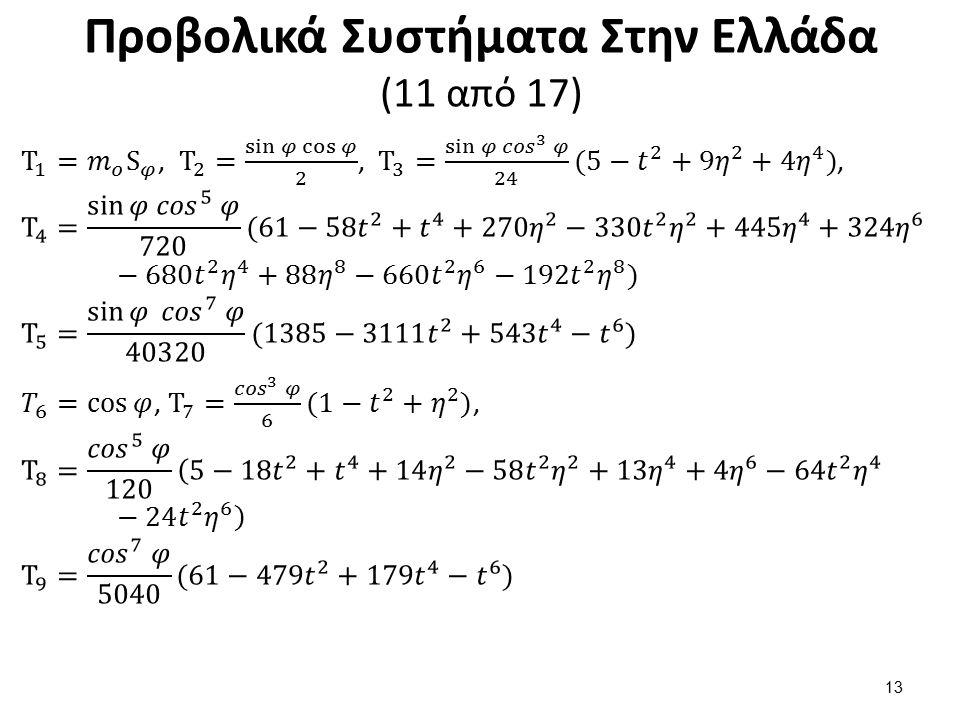Προβολικά Συστήματα Στην Ελλάδα (11 από 17) 13