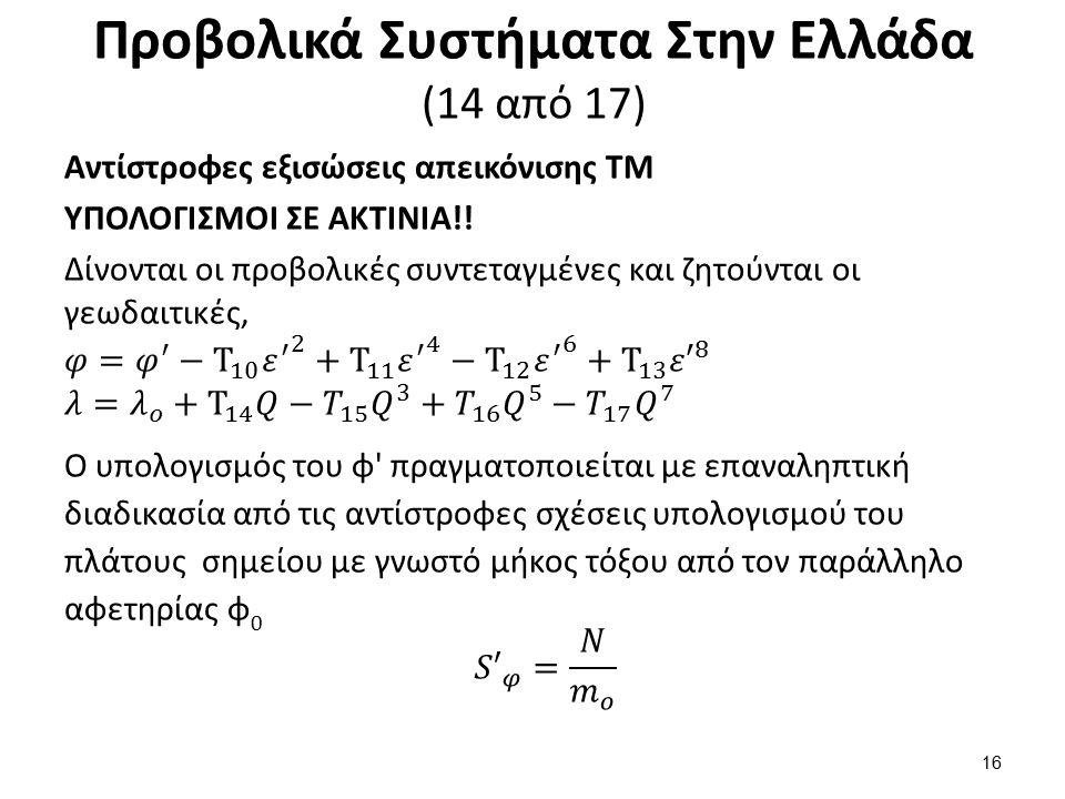 Προβολικά Συστήματα Στην Ελλάδα (14 από 17) 16