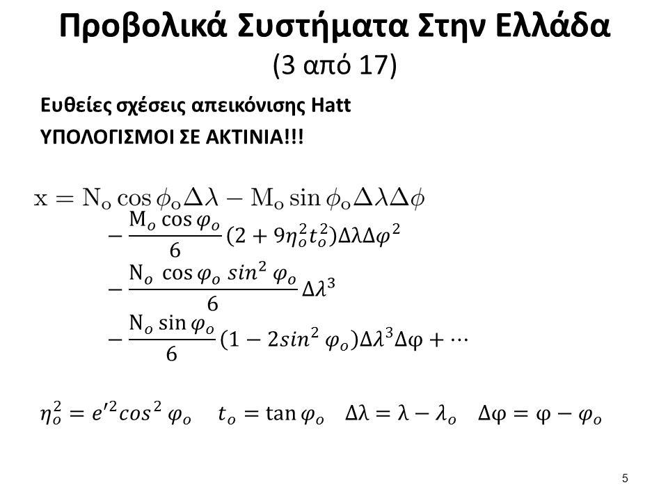 Προβολικά Συστήματα Στην Ελλάδα (3 από 17) 5