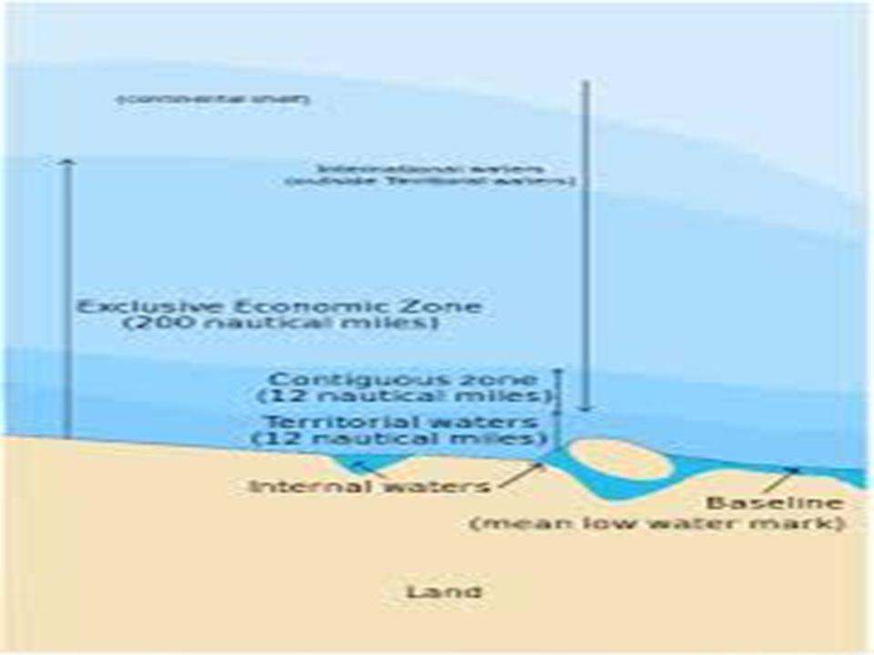 ΑΠΟΚΛΕΙΣΤΙΚΗ ΟΙΚΟΝΟΜΙΚΗ ΖΩΝΗ (ΑΟΖ) Σύμφωνα με τη Διεθνή Συνθήκη του ΟΗΕ περί Ναυτικού Δικαίου (1982), ΑΟΖ θεωρείται η θαλάσσια έκταση, εντός της οποία