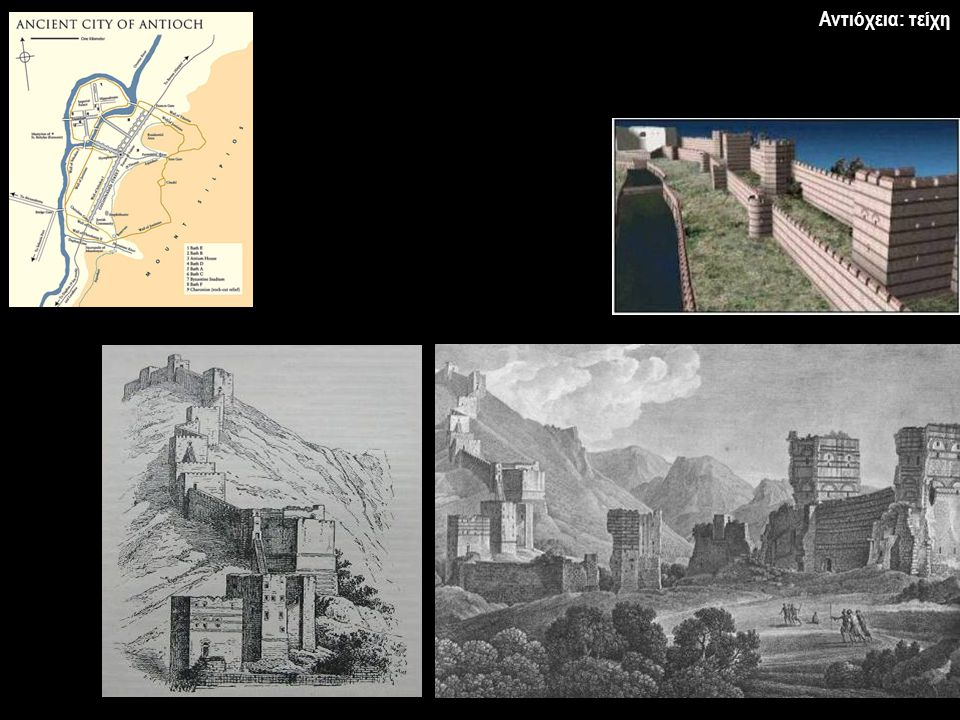 Μονή και προσκύνημα του αγίου Συμεών του Στυλίτη († 459) Ναοδομία της Συρίας
