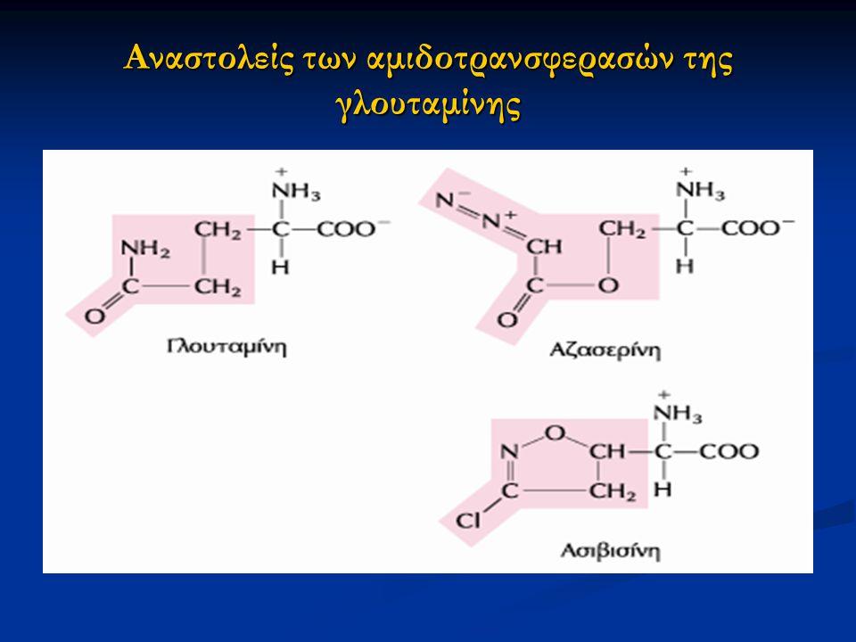 Αναστολείς των αμιδοτρανσφερασών της γλουταμίνης