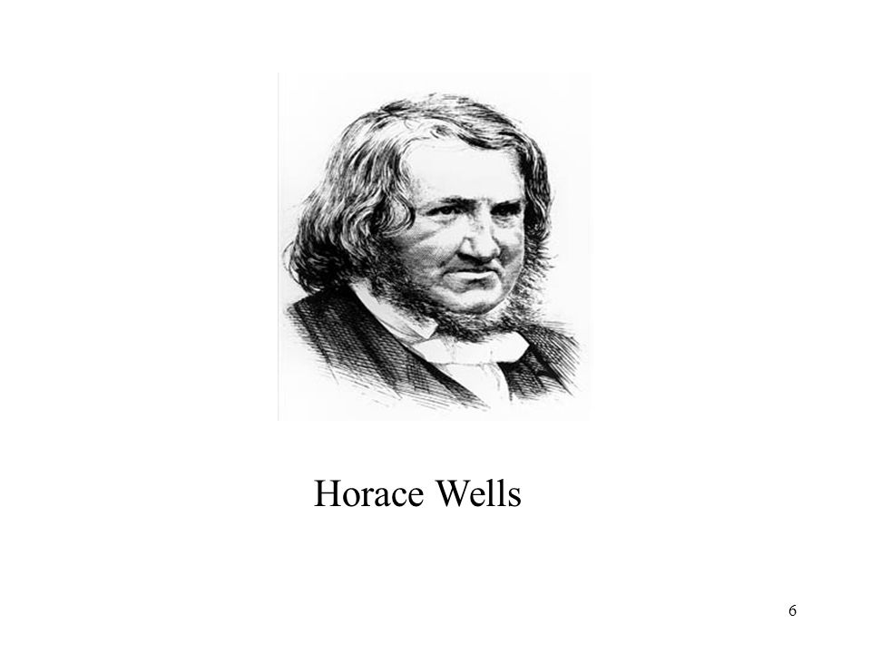 6 Horace Wells