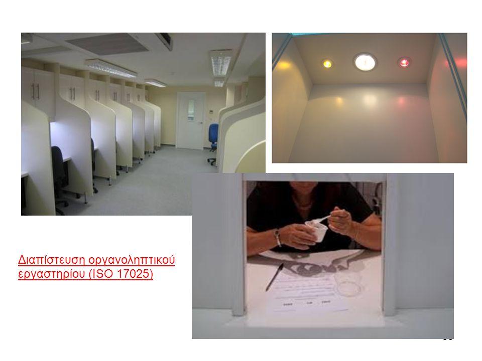 36 Διαπίστευση οργανοληπτικού εργαστηρίου (ISO 17025)