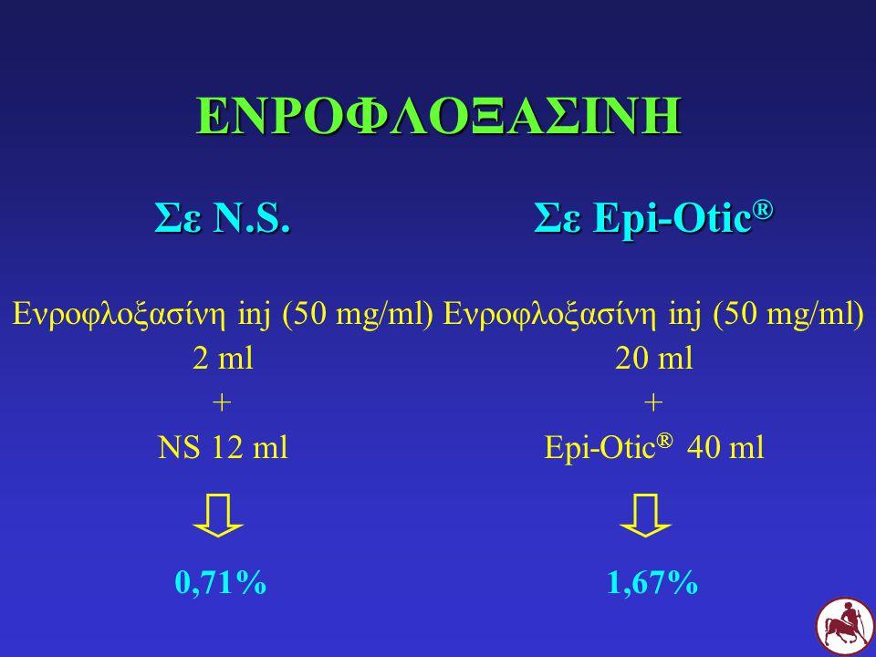 ΑΡΓΥΡΟΥΧΟΣ ΣΟΥΛΦΑΔΙΑΖΙΝΗ Αργυρούχος σουλφαδιαζίνη cream (1%) 1ml + Νερό 1-9 ml 0,1 – 0,5%