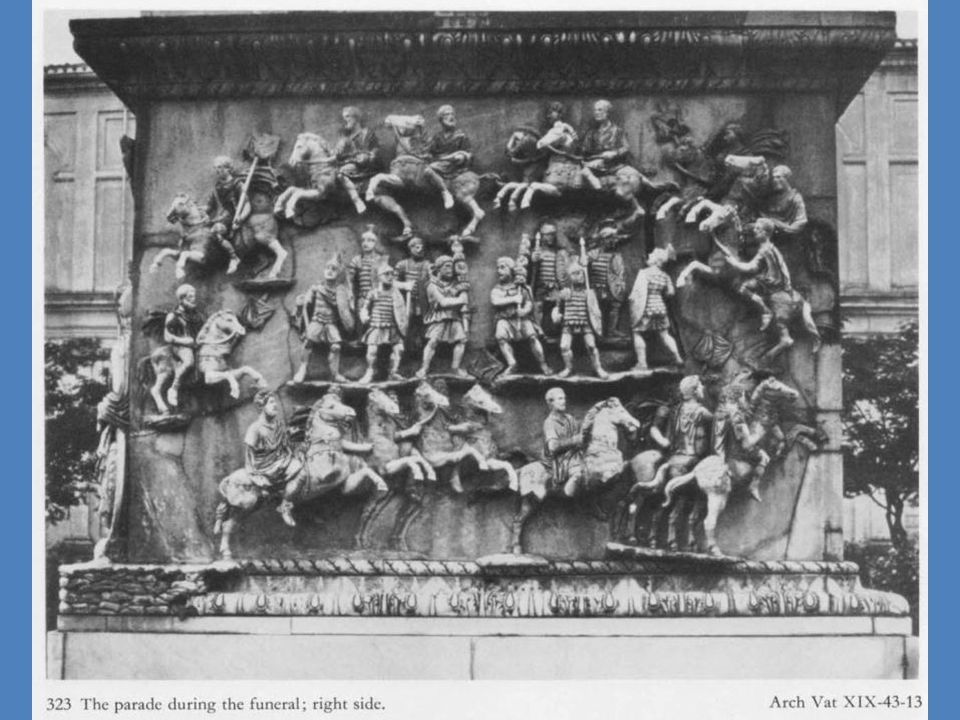 Ρώμη: κίονας του Μάρκου Αυρηλίου