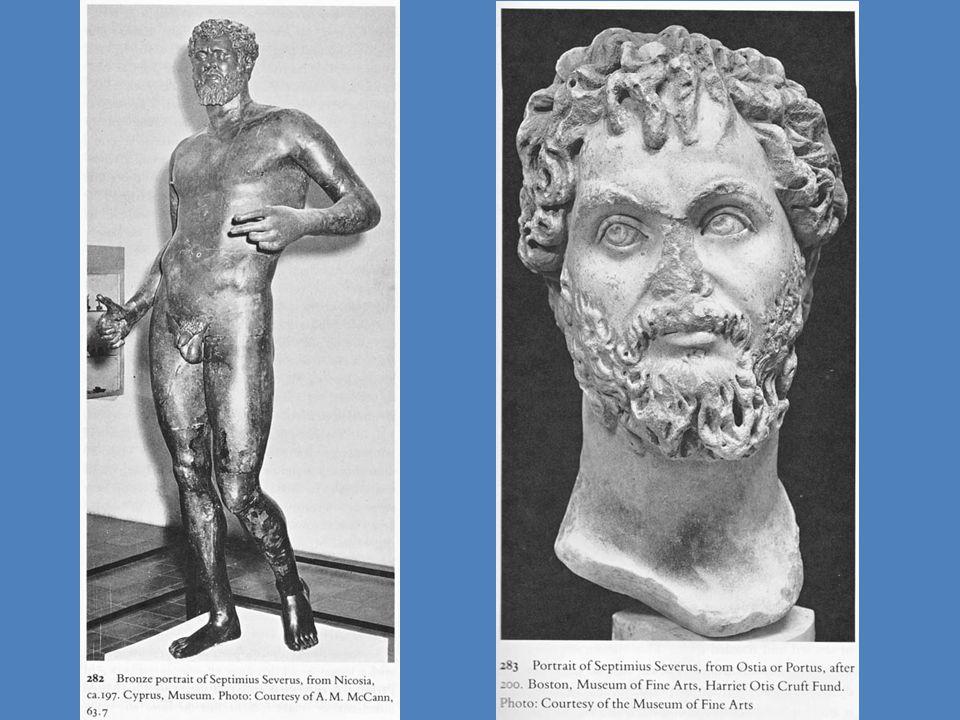 Ρώμη: αψίδα του Σεπτίμιου Σεβήρου