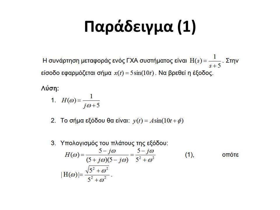 Παράδειγμα (1)
