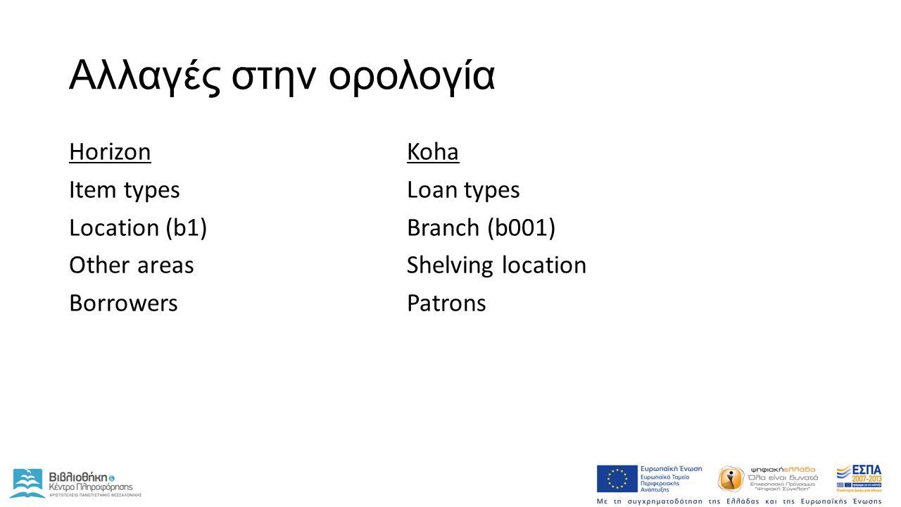 Χρήση Koha Staff - http://kohadev.lib.auth.gr/http://kohadev.lib.auth.gr/ Κατάλογος - http://devcatalog.lib.auth.gr/http://devcatalog.lib.auth.gr/ search.lib.auth.gr