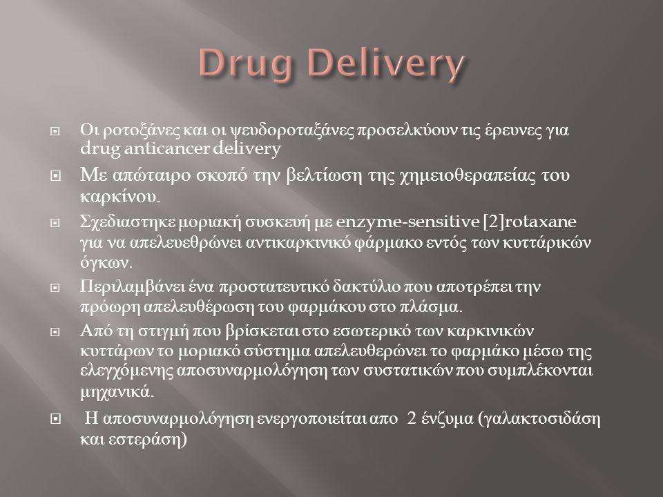  Οι ροτοξάνες και οι ψευδοροταξάνες προσελκύουν τις έρευνες για drug anticancer delivery  M ε απώταιρο σκοπό την βελτίωση της χημειοθεραπείας του κα