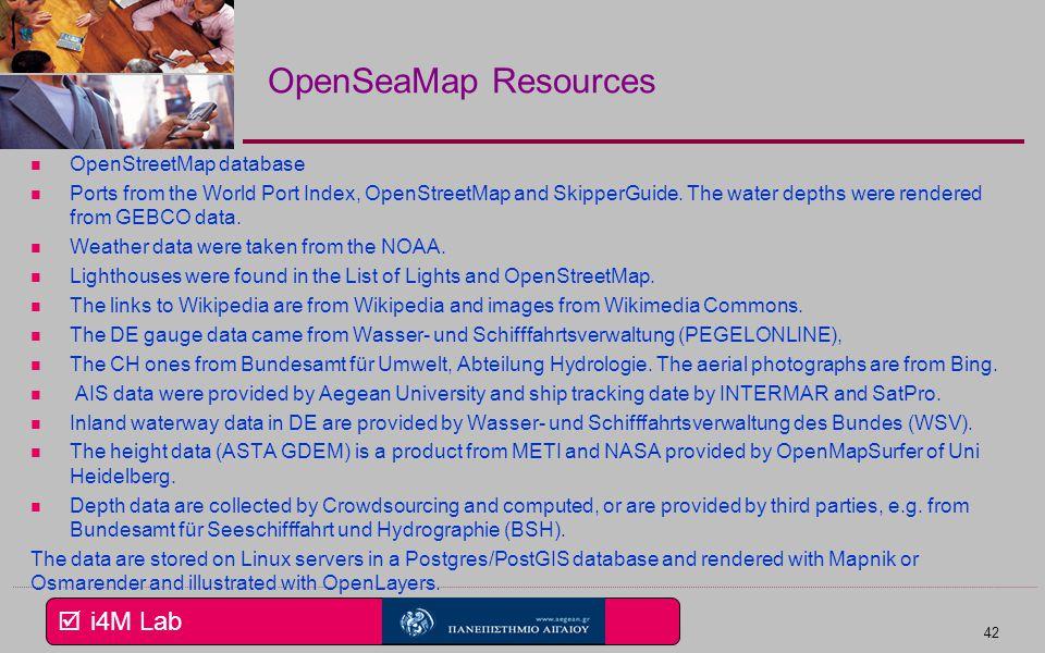  i4M Lab OpenSeaMap - The free nautical chart 41