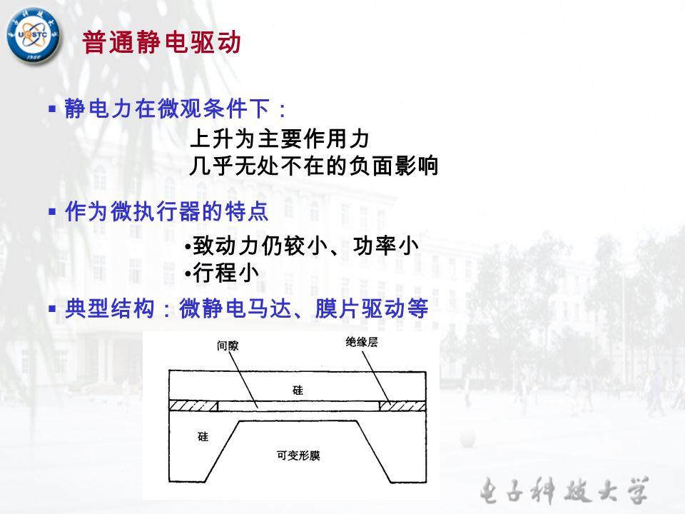 热 — 气制动式 双稳态膜片结构特征 —— 微小倾度的球形或锥形圆顶 本质是变形量剩余