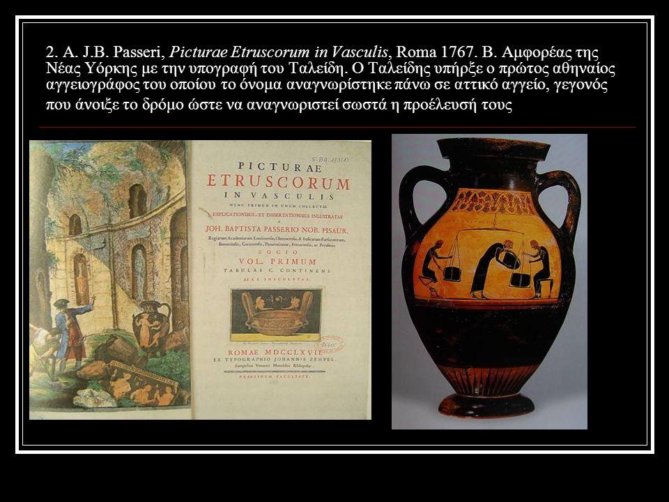 13. Α. Στήλη του Avle Titie (πριν το 1524). Β. Χίμαιρα του Αρέτσο (1553). Γ. Ο Ρήτωρ (1566).