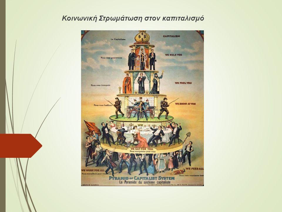 Κοινωνική Στρωμάτωση στον καπιταλισμό