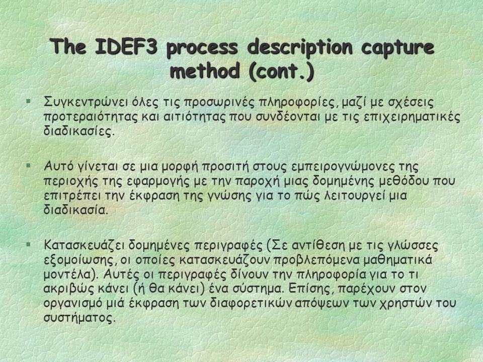 Tο μοντέλο EPC (Event-Driven Process Chain Model ) Τι είναι; §Μια προηγμένη μορφή διαγραμμάτων ροής.