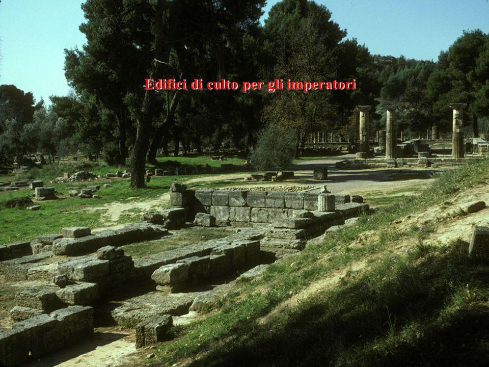 Edifici di culto per gli imperatori