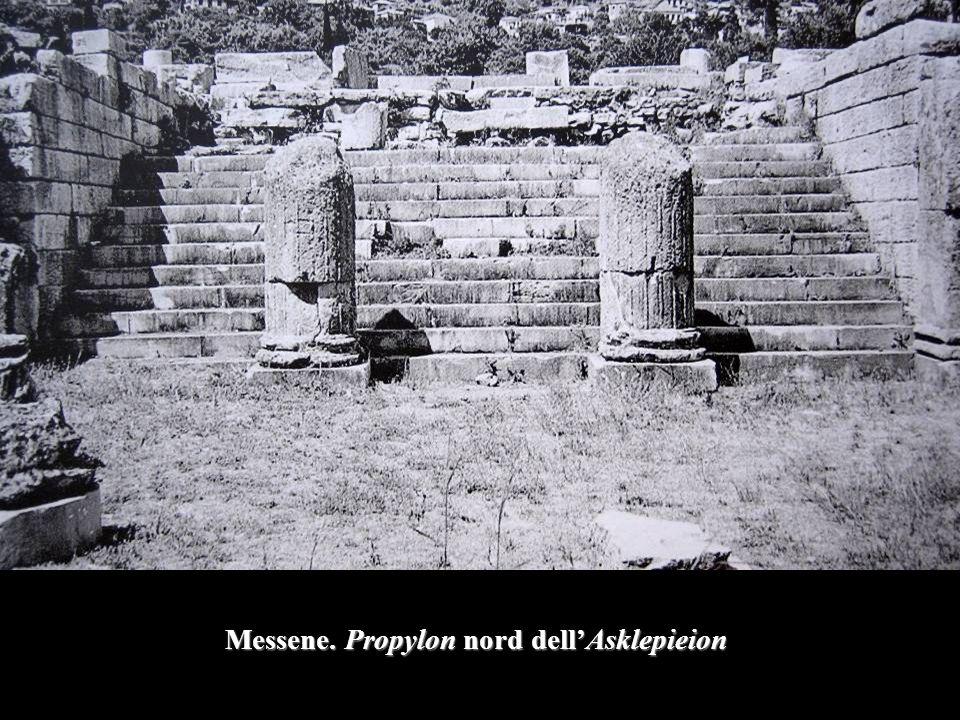 Messene. Propylon nord dell'Asklepieion