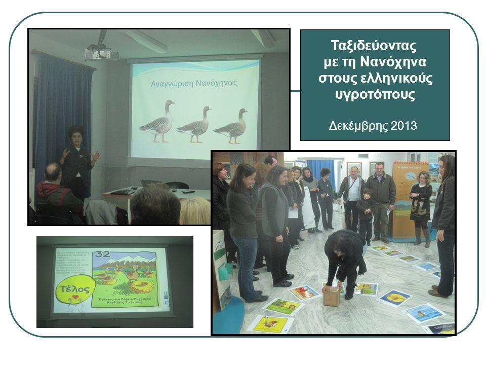 Ταξιδεύοντας με τη Νανόχηνα στους ελληνικούς υγροτόπους Δεκέμβρης 2013