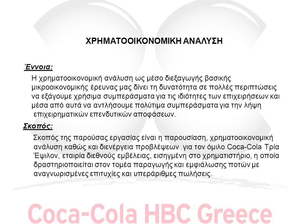 ΕΤΑΙΡΙΚΟ ΠΡΟΦΙΛ Η Ελληνική Εταιρεία Εμφιαλώσεως Α.Ε.