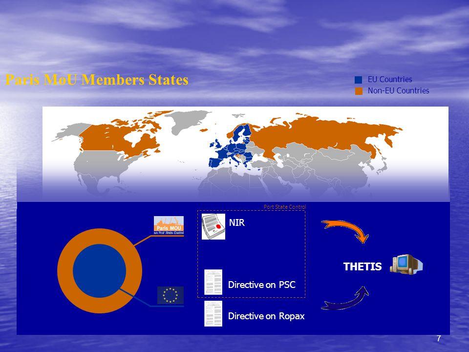 38 Τι είναι το THETIS.Ένα νέο πληροφοριακό σύστημα επιθεωρήσεων Κράτους Λιμένα και ROPAX.