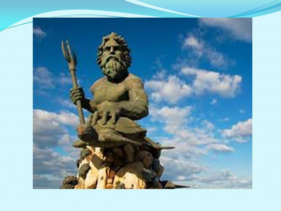 Ποσειδώνας Ο Ποσειδώνας ήταν στη μυθολογία ένας από τους δώδεκα θεούς του Ολύμπου, κυρίαρχος και παντοδύναμος θεός της θάλασσας και όλων των νερών (ποταμών, λιμνών, πηγών).