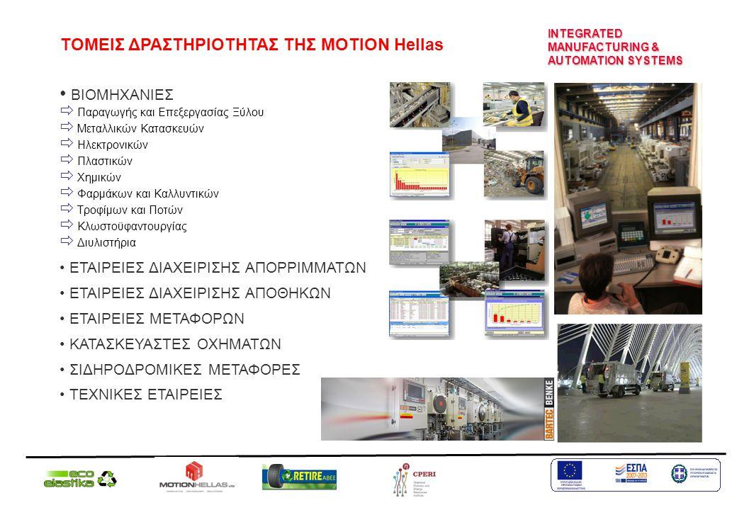 ΒΙΟΜΗΧΑΝΙΕΣ  Παραγωγής και Επεξεργασίας Ξύλου  Μεταλλικών Κατασκευών  Ηλεκτρονικών  Πλαστικών  Χημικών  Φαρμάκων και Καλλυντικών  Τροφίμων και