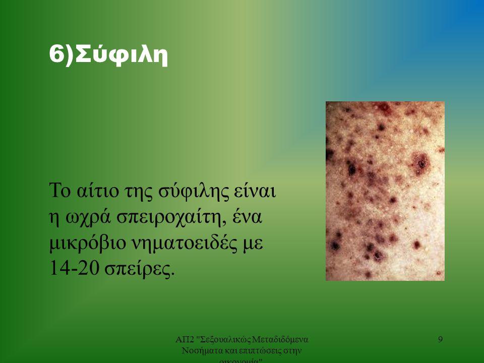 7) HIV/AIDS Ο ιός ανθρώπινης ανοσοανεπάρκειας (HIV-Human Immunodeficiency Virus) 10ΑΠ2 Σεξουαλικώς Μεταδιδόμενα Νοσήματα και επιπτώσεις στην οικονομία .