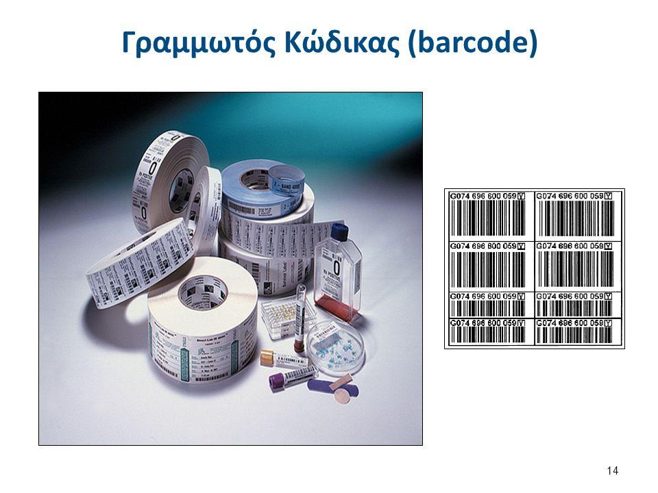 Γραμμωτός Κώδικας (barcode) 14