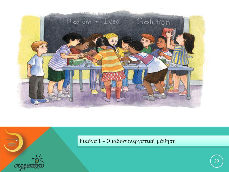 20 Εικόνα 1 – Ομαδοσυνεργατική μάθηση