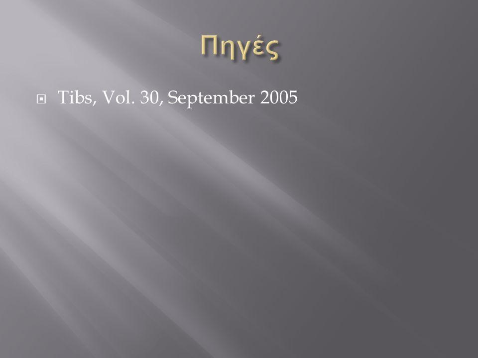  Tibs, Vol. 30, September 2005