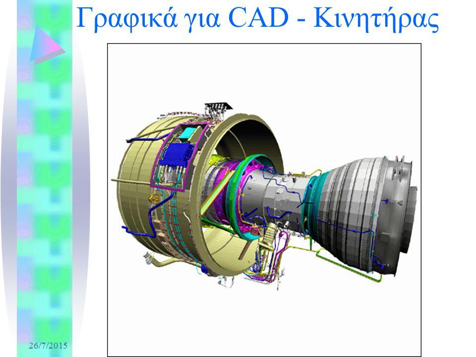 26/7/2015 Γραφικά για CAD - Κινητήρας