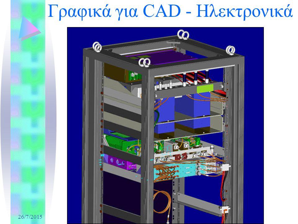 26/7/2015 Γραφικά για CAD - Ηλεκτρονικά