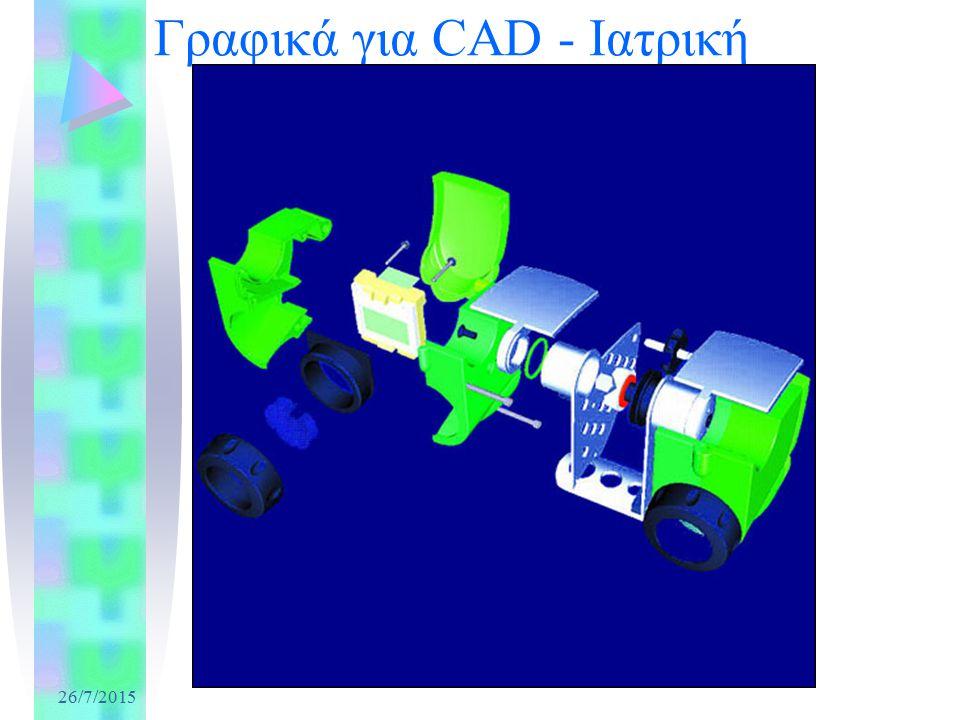 26/7/2015 Γραφικά για CAD - Ιατρική