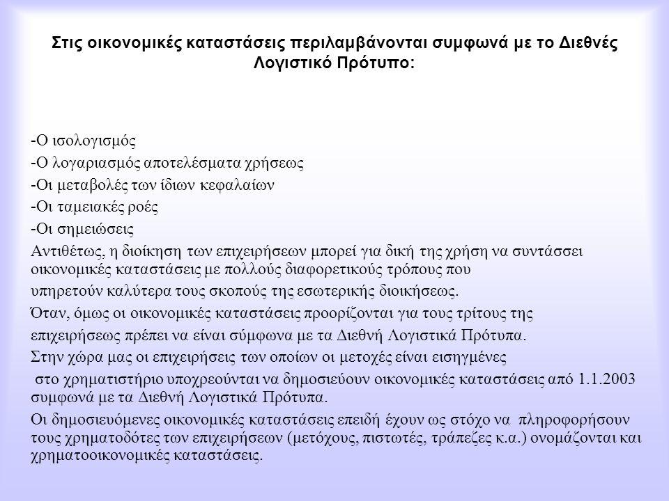 Αρχές λογισμού των αποσβέσεων Ο λογισμός των απoσβέσεων των ενσώματων ακινητοποιήσεων γίνεται, βάσει της Ελληνικής φορολογικής νομοθεσίας, με τις εξής αρχές: α) Η διενέργεια των αποσβέσεων για κάθε έτος είναι υποχρεωτική ανεξάρτητα αν κατά τη χρήση προκύπτει καθαρό κέρδος ή ζημία.