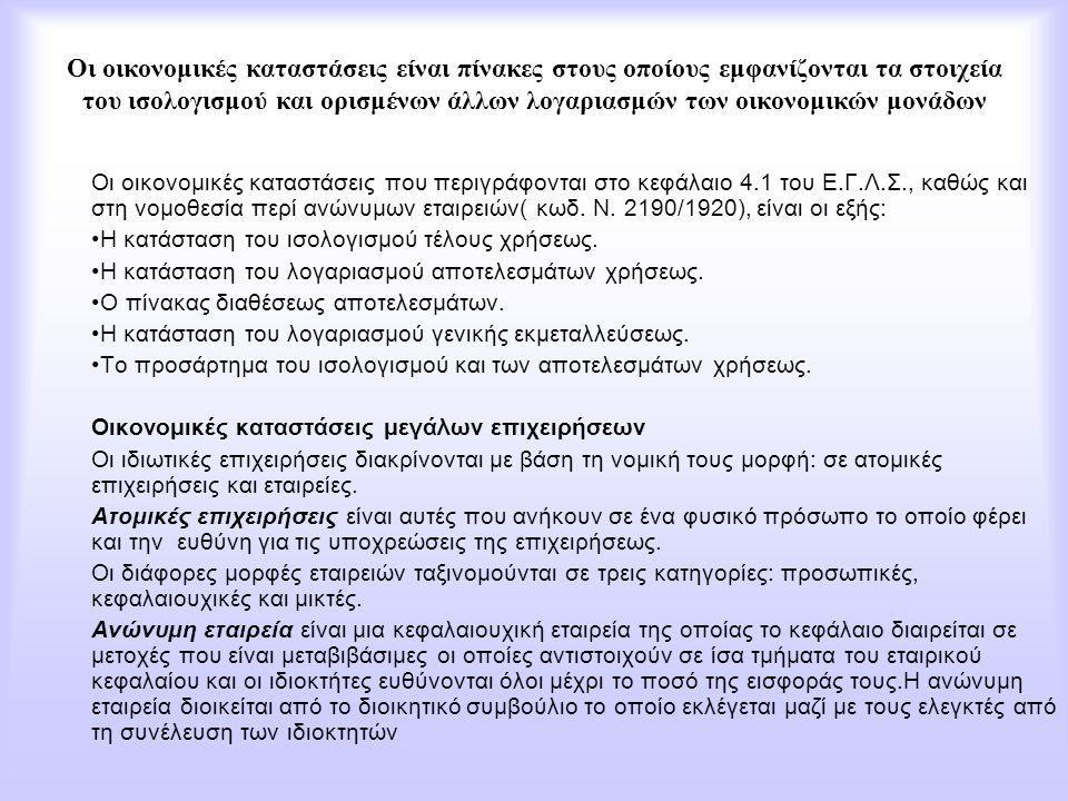 ΓΕΝΙΚΕΣ ΠΑΡΑΤΗΡΗΣΕΙΣ ΚΑΙ ΟΡΙΣΜΟΙ ΣΥΜΜΕΤΟΧΕΣ Συμμετοχή στο κεφάλαιο μιας άλλης επιχείρησης είναι το δικαίωμα το οποίο παρέχει η ελληνική νομοθεσία σε οποιαδήποτε επιχείρηση ανεξαρτήτως νομικής μορφής, το δικαίωμα αυτό καταχωρείται στους υπολογαριασμούς του πρωτοβάθμιου λογαριασμού 18.