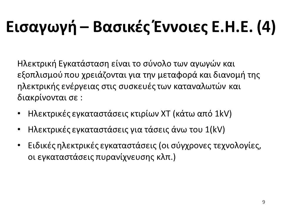 Κίνδυνοι από το Ηλεκτρικό Ρεύμα (5) Η επίδραση του ρεύματος στον ανθρώπινο οργανισμό εξαρτάται : Από τη δεδομένη κατάσταση του οργανισμού (εξασθενημένος, φαγωμένος, ιδρωμένος) Από την υγρασία του χώρου Από την επιφάνεια επαφής και εξόδου του ρεύματος.