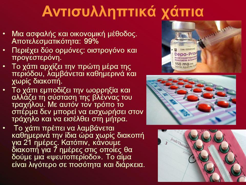 Αντισυλληπτικά χάπια Μια ασφαλής και οικονομική μέθοδος.
